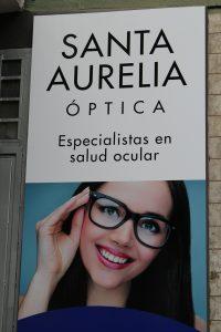 Santa Aurelia se ocupa de tu salud visual