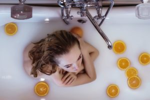 Juega con tus elementos de baño