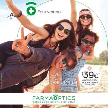 Promoción gafas de sol en Farmacia Optica Santa Aurelia
