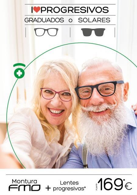 i love progresivos en Farmacia Optica Santa Aurelia