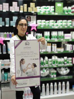 Be+ Experience en Farmacia Santa Aurelia
