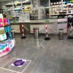 Medidas de protección y seguridad en Farmacia Óptica Santa Aurelia
