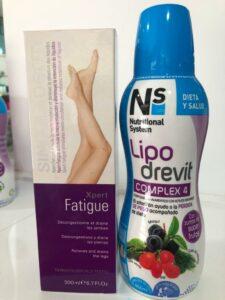 Drenante y crema antiatiga para la insuficiencia venosa y las piernas cansadas