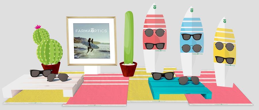 Tus gafas de sol para verano en Farmacia Optica Santa Aurelia
